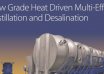 "کتاب""Low Grade Heat Driven Multi-effect Distillation and Desalination"""