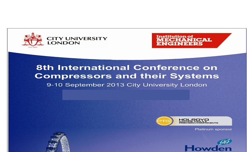 "کتاب""۸th International Conference on Compressors and their Systems"""